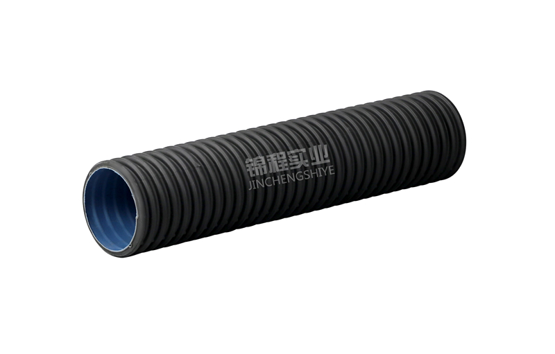 HDPE double-wall corrugated pipe160